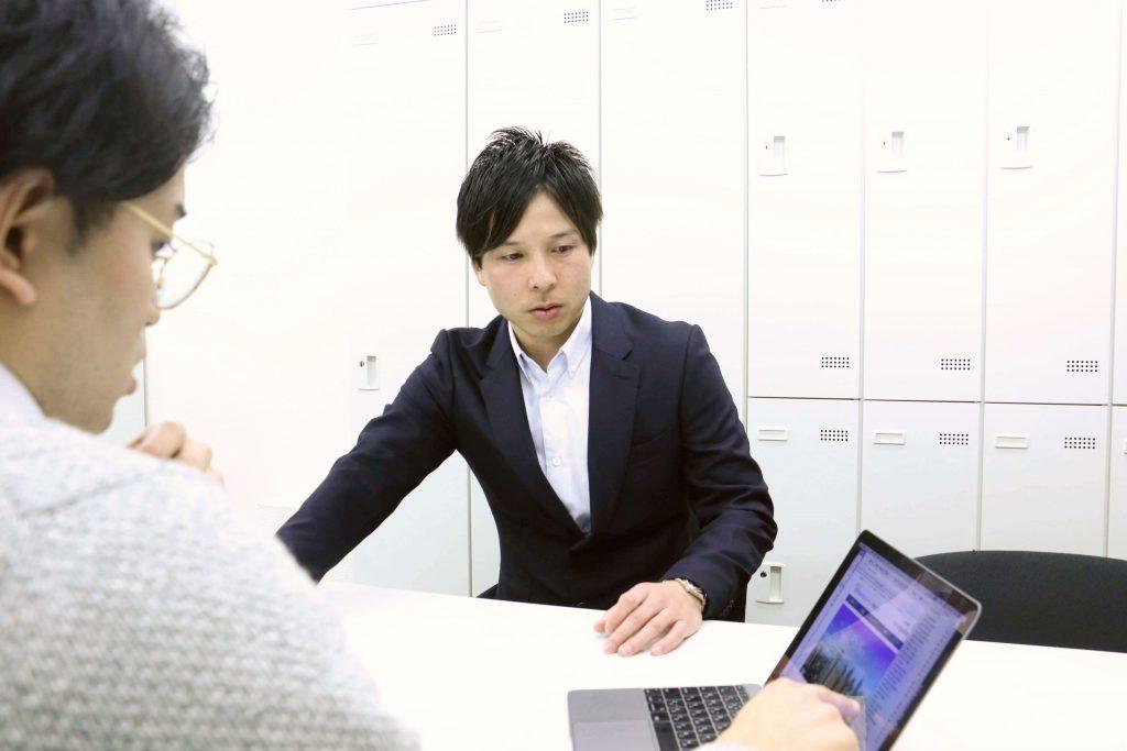 日本空調メンテナンス株式会社代表笹木氏とブラニュー荒井
